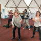 Radical Aliveness Group Movement Class Worm up and training