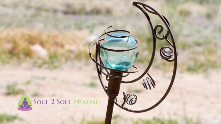 glass globe and cast iron art soul 2 soul healing