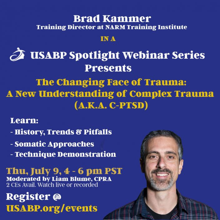 NARM Brad Kammer announcing a training course